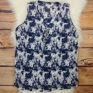 Michael Kors 2X blouse sleeveless
